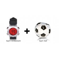 Esprit Kinder-Armbanduhr 4413725 + Gratis Ball