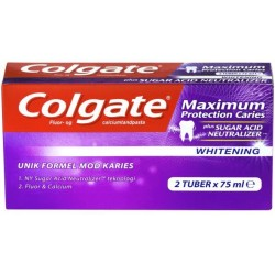Colgate Max Protection Whitening 2x75ml Zahncreme