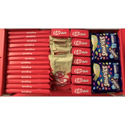 KIT KAT & SMARTIES XXXL BOX 296 RIEGEL