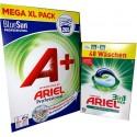 Ariel Pulver / Caps Kombi Box (313 Wäschen)