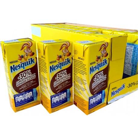 NESQUIK Kakao RTD Weniger Zucker (30 x 200 ml)