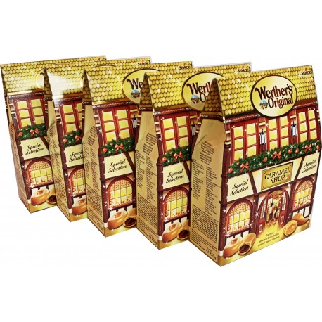 Werther's Original Spezial Selection Karamell Shop Box 250g