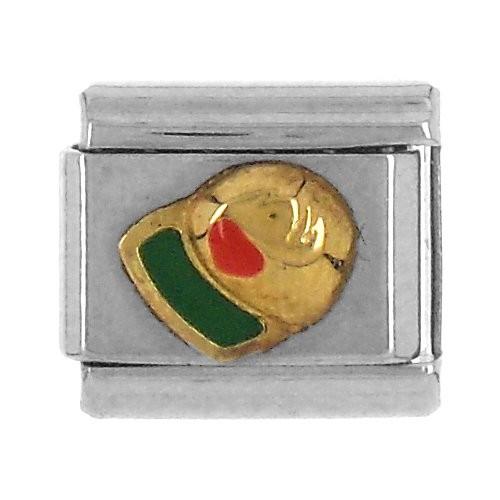 KAPPE - grün/rot/gold