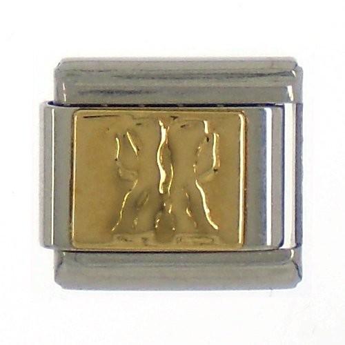 """Sternzeichen """"ZWILLING"""" - gold"""