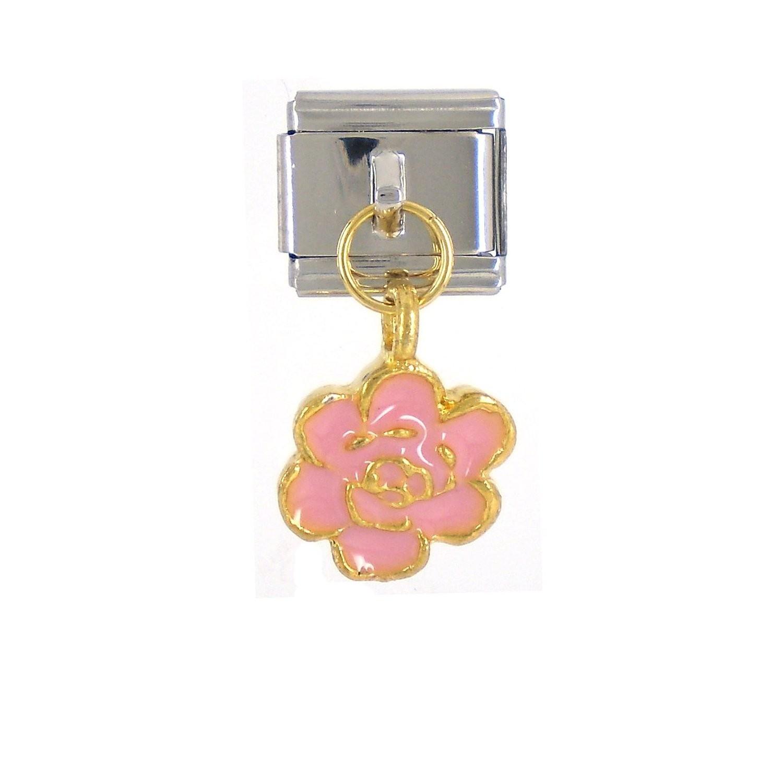 "Blume ""ROSE"" - rosa/gold"