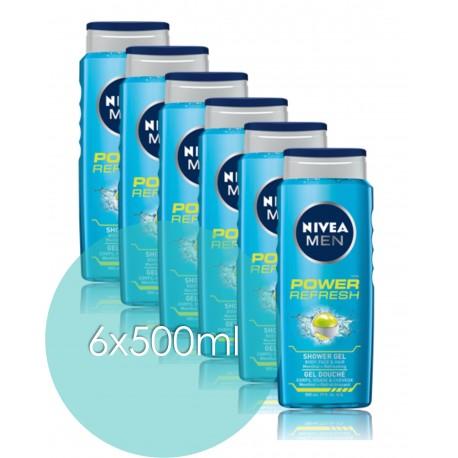 Nivea Men Power Refresh Shower Gel 500 ml