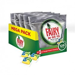 Fairy Jar Platinum Lemon Spülmaschinentabs Lemon 10er Pack