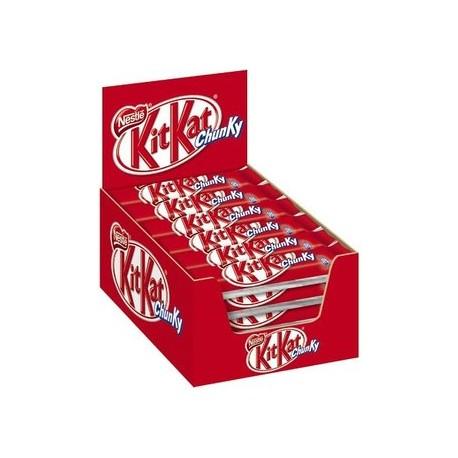 Nestlé KitKat Chunky Schokoriegel Milchschokolade Multipack 24 x 40g