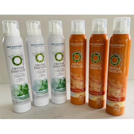 Herbal Essences Trockenshampoo Clearly Naked, 6er Pack (6 x 180 ml)