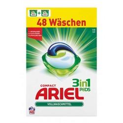 Ariel 3in1 Pods Vollwaschmittel, 48 Waschladungen