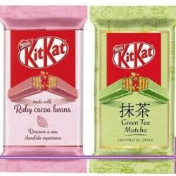KitKat Ruby / Green Tea Matcha je (24 x 41,5g