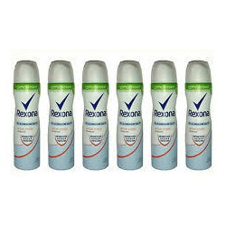 Rexona Compressed Cotton Dry Deo-Spray, 6er Pack (6 x 75 ml)