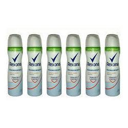Rexona Compressed Cotton Dry Deo-Spray, 6er Pack (6 x 75 ml)