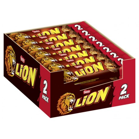Lion King Size Einzelriegel, 24er Pack (24 x 65 g)