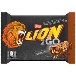 Lion 2Go Peanut / Chocolate 4er Pack