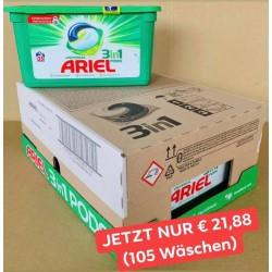 Ariel 3in1 Pods Giga Box 99-105 Wäschen