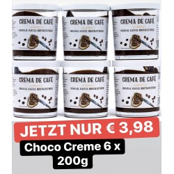Choco Creme - Original  6 x 200g Glas