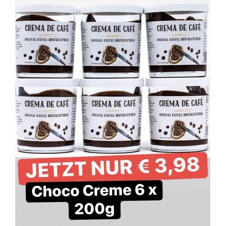 Crema de Cafe - Original  6 x 200g Glas