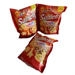 Saltletts Junior Farm Knabber Chips Laugengebäck (12 x 150g)