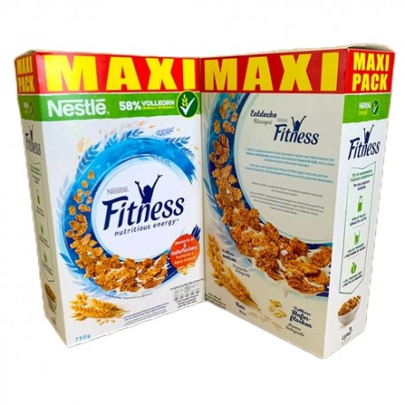 XXL Box Nestle FITNESS - Frühstücks-Flakes (6 x 750g)