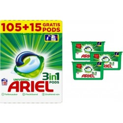 Ariel 3in1 Pods Regular 105+15WL GIGA BOX