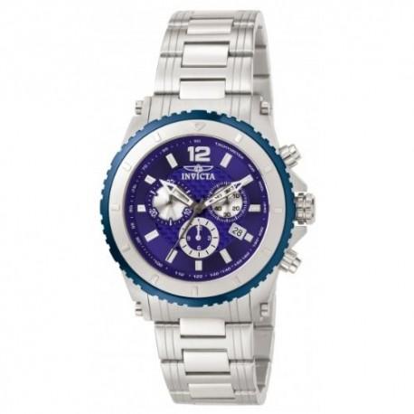 Invicta Herren-Armbanduhr Specialty Quarz Silber 1009
