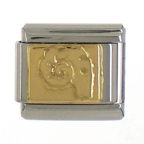 """Sternzeichen """"WIDDER"""" - gold"""