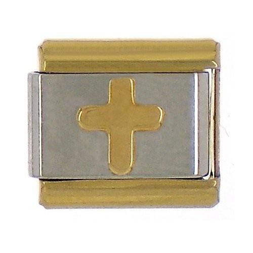 KREUZ - gold/silber/gold