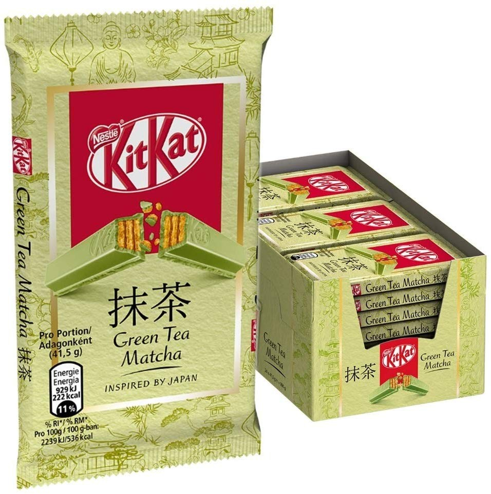 KitKat Green Tea Matcha (24 x 41,5 g)