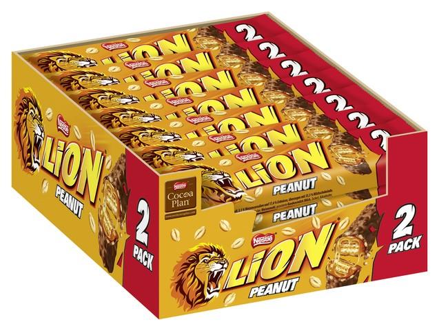 Lion 2Pack Erdnussbutter 28 x 2x30g