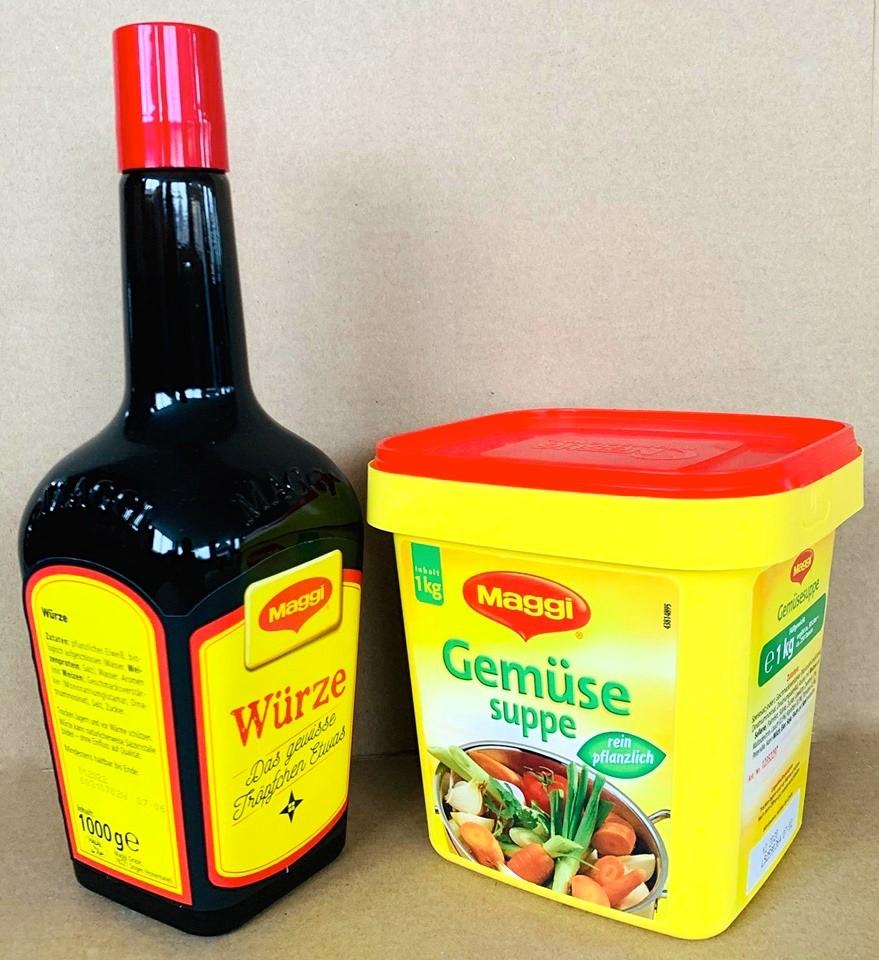 Würze + Gemüse-Suppe