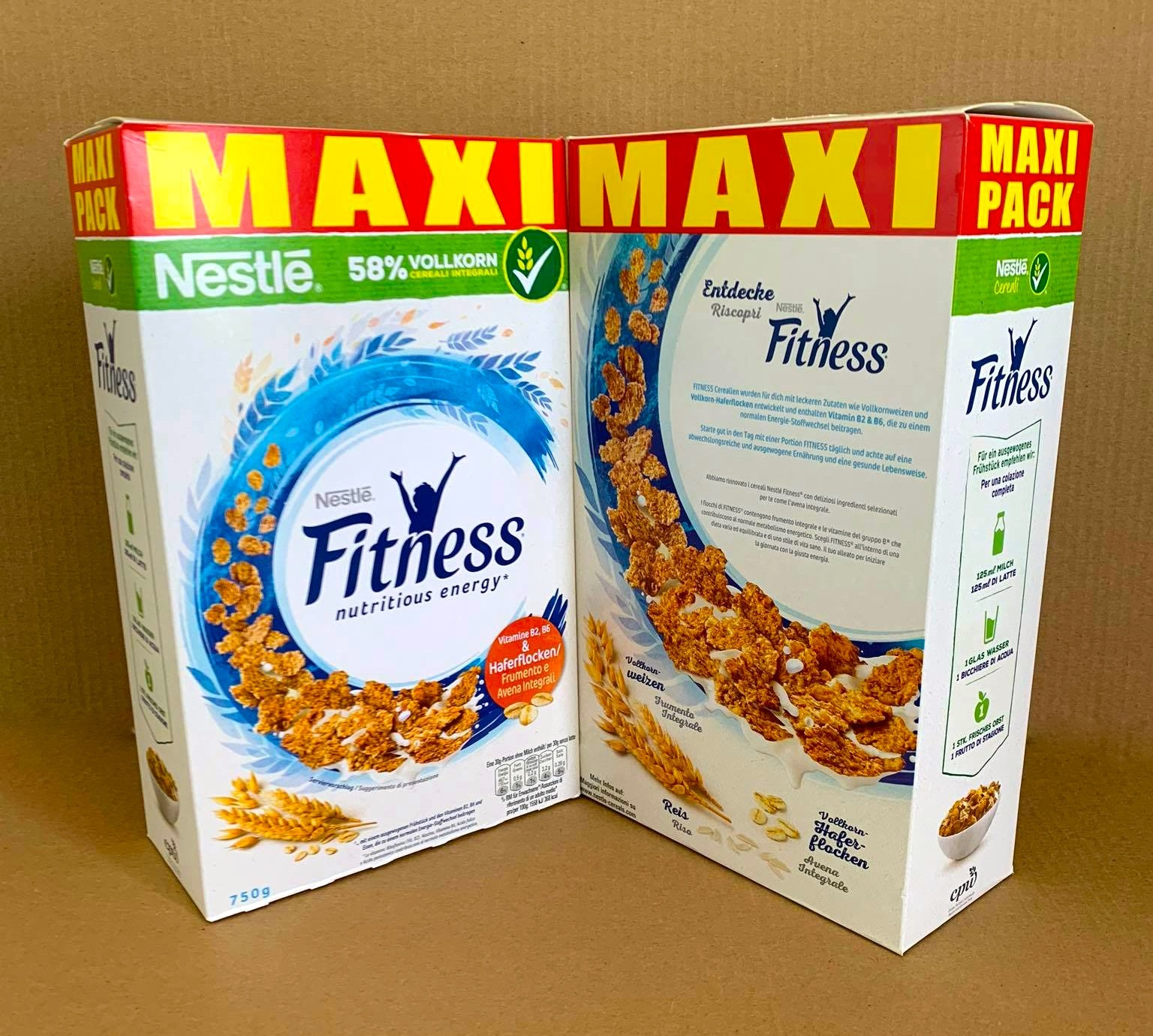 Fitness nutritious energy 750g