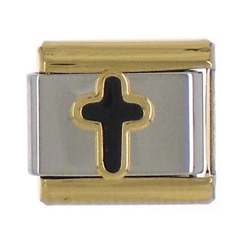 KREUZ - schwarz/gold