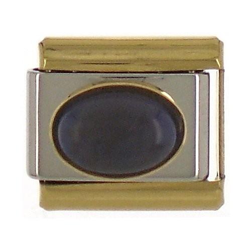STEIN - dunkelblau/gold