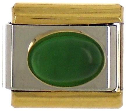 STEIN - grün/gold